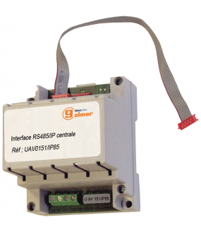 INTERFACE RS485 POUR CENTRALES