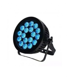 Projecteur PAR LED 18x10W RGBW Full color IP65