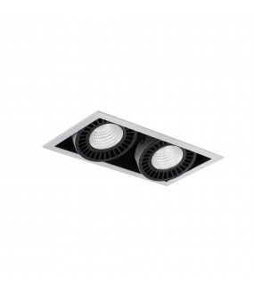COLIN-2 GREY DOWNLIGHT LED RETAIL 48/72W PEARL WHI