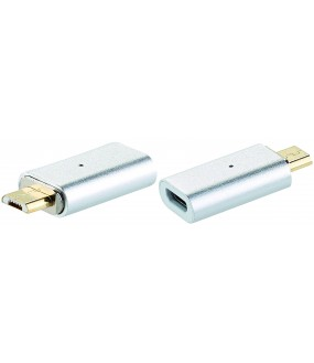 DONGLE MICRO USB FEMELLE - MICRO USB MAGNETIQUE 2A