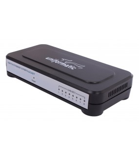 SWITCH DESKTOP 8 PORTS 10/100/1000 GIGABIT