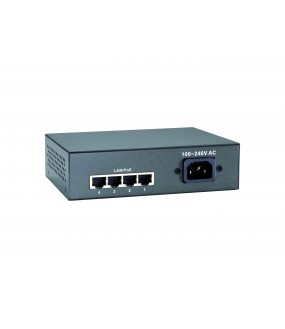 SWITCH POE DESKTOP 4 PORTS 10/100 65W