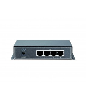 SWITCH POE DESKTOP 4 PORTS GIGABIT 65W + 1PORT UPLINK