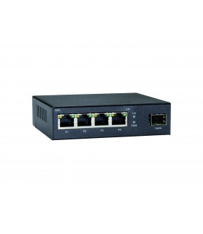 SWITCH DESKTOP 4 PORTS GIGABIT 10/100/1000 +1 SFP