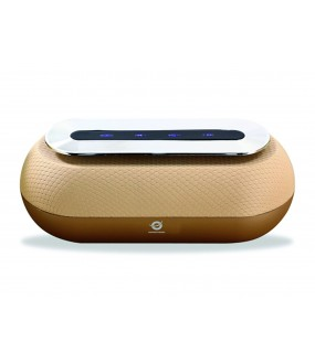ENCEINTE BLUETOOTH TACTILE DOREE