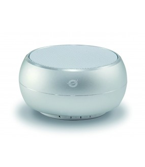 ENCEINTE BLUETOOTH MINI ARGENTEE
