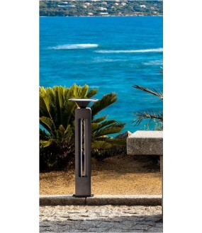 SINTINELLA 0140 BORNE SOLAIRE 500LM IP65 4000K 600MM DETECT