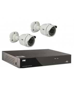 Kit Ip 2 Cam+1Nvr