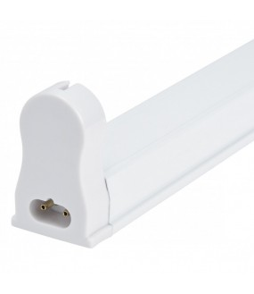 Luminaire Aluminium Eco 1 X Tube LED T8 60Cm Connexion À Une Extrémité