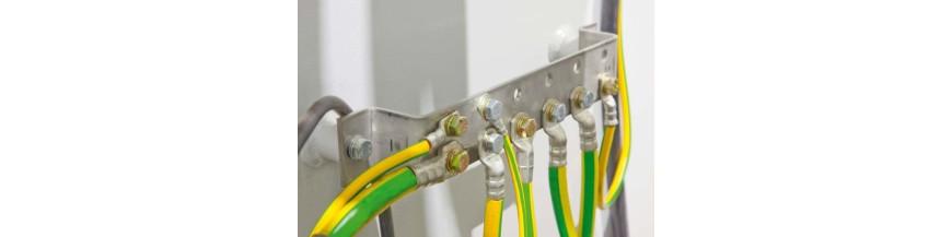 Liaison equipotentielle et connecteurs
